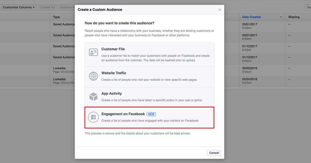 facebook hirdetés célzása remarketinggel