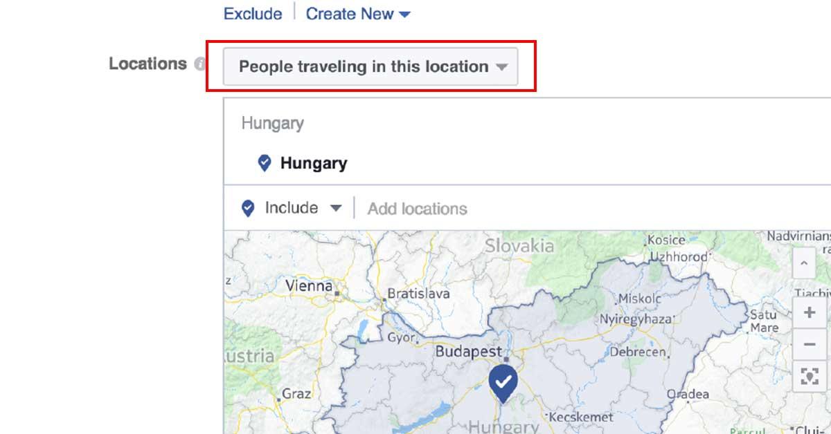 facebook célzások - direkt célzás 2