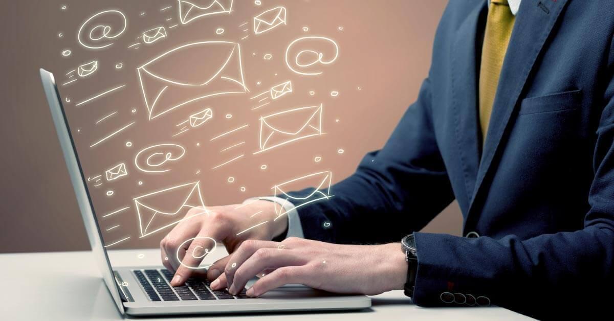 computer email marketing art