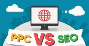 SEO vs PPC infografika