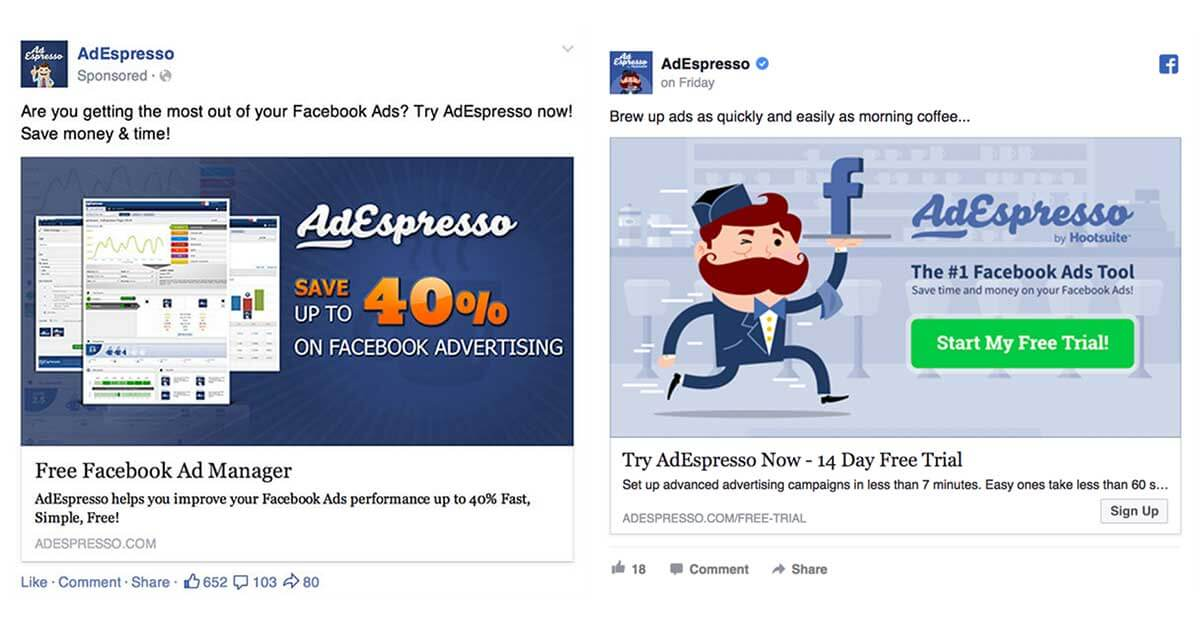 Adespresso hirdetések