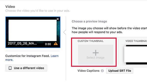facebook videó thumbnail
