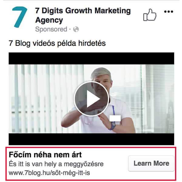 facebook videó hirdetés 2