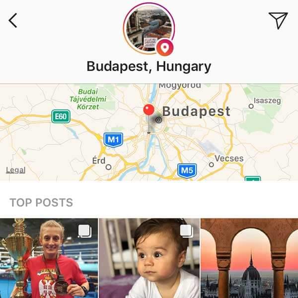 lokáció hashtag