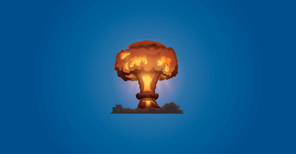 facebook fiók visszaállítása cover art nukleráis gombafelhő, mely az armageddont hivatottt jelképezni