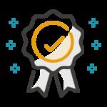 7 Digits B2B blueprint badge