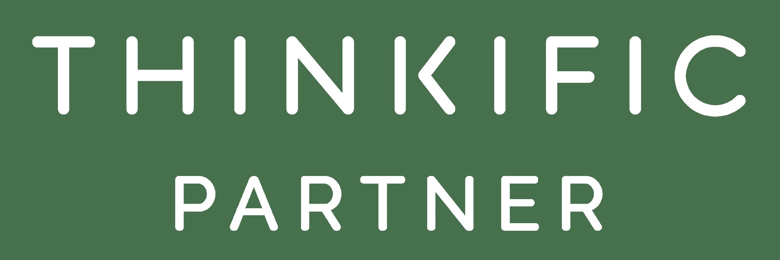 Tudásmenedzsment Szolgáltatás - Oktatásmenedzsment LMS logo Thinkific